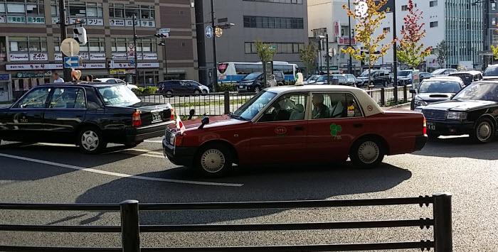京都駅のタクシー